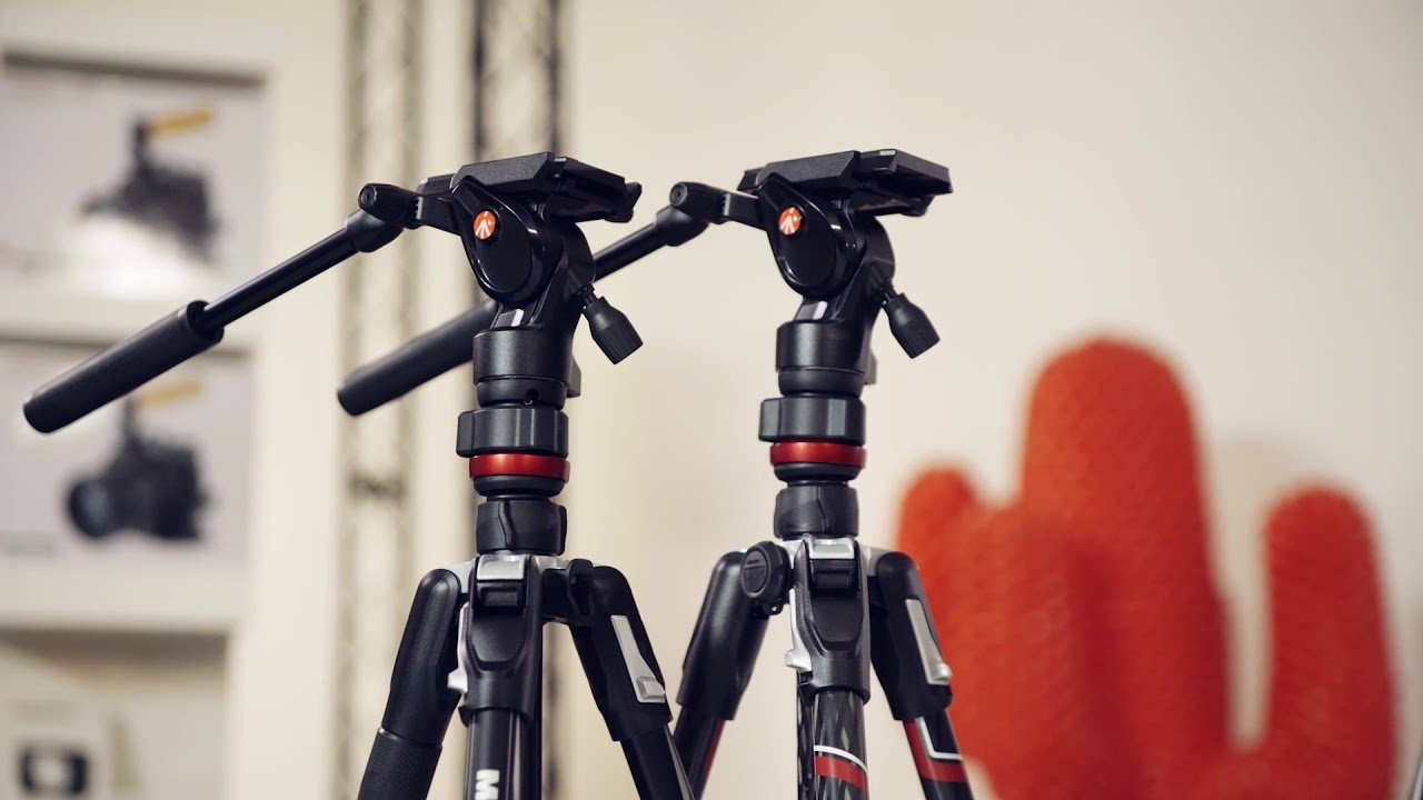 tripode manfrotto befree